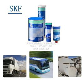 SKF斯凯孚进口润滑脂LGWA2重载、极压、宽温轴承润滑脂油桶