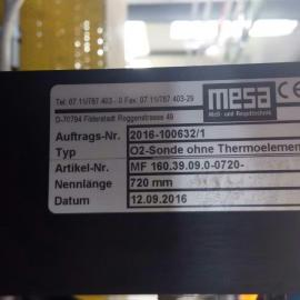 低价销售氧探头/传感器MESA MF060.93.200MK720-H2