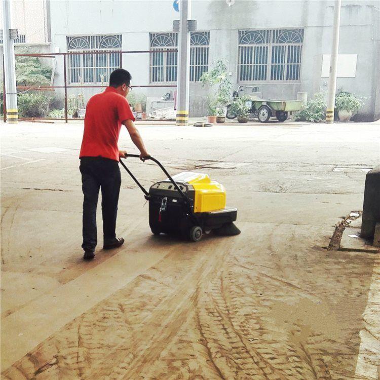 工厂地面灰尘清扫机|凯达仕手推式扫地机YC-SD950价格