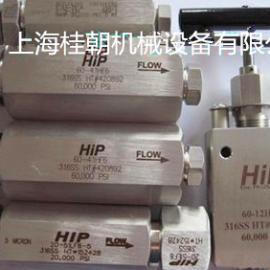 超高压手动针阀、进口超高压手动针阀、HIP超高压手动针阀