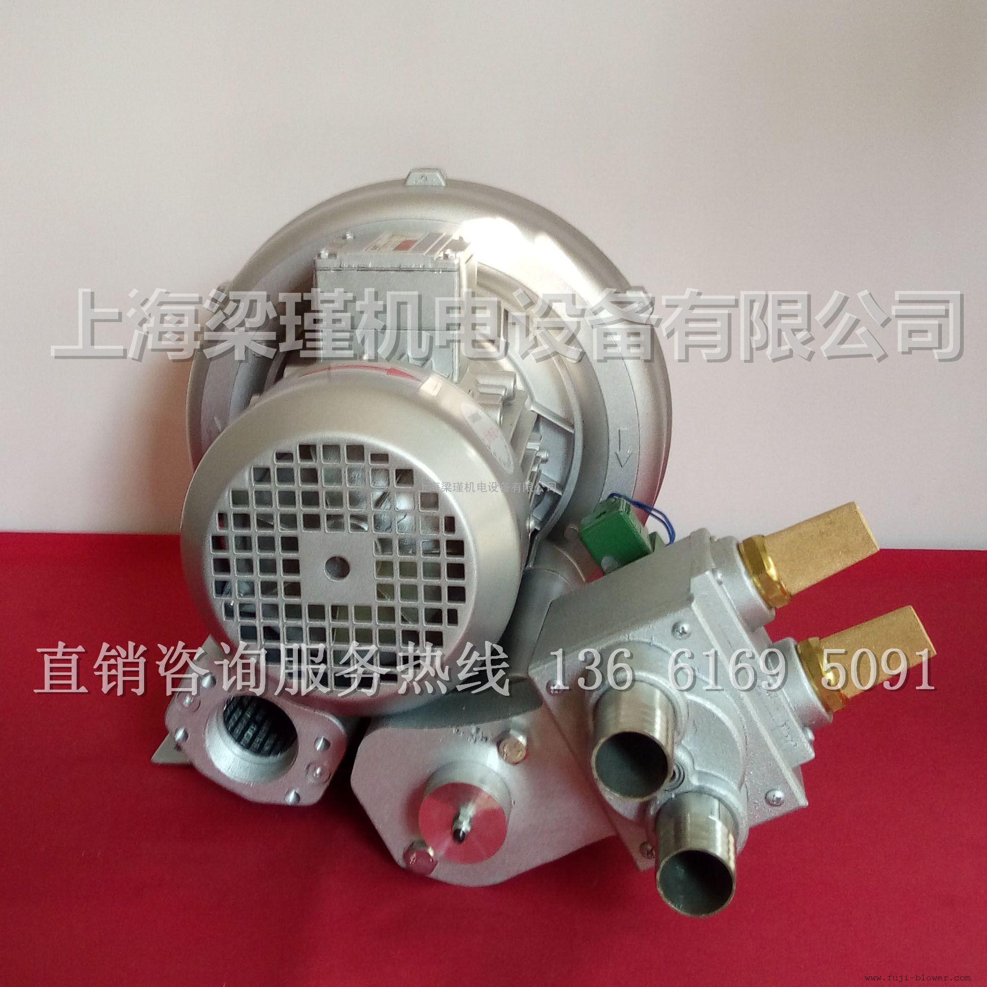 切纸机专用气泵电磁阀价格,切纸机械专用漩涡气泵厂家图片