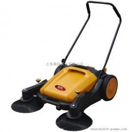 手推式扫地车 落叶垃圾灰尘专用清扫车小区公园道路扫地车