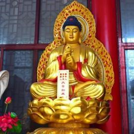 海南佛像雕塑厂家供应玻璃钢大日如来坐像雕塑 寺庙雕塑摆件