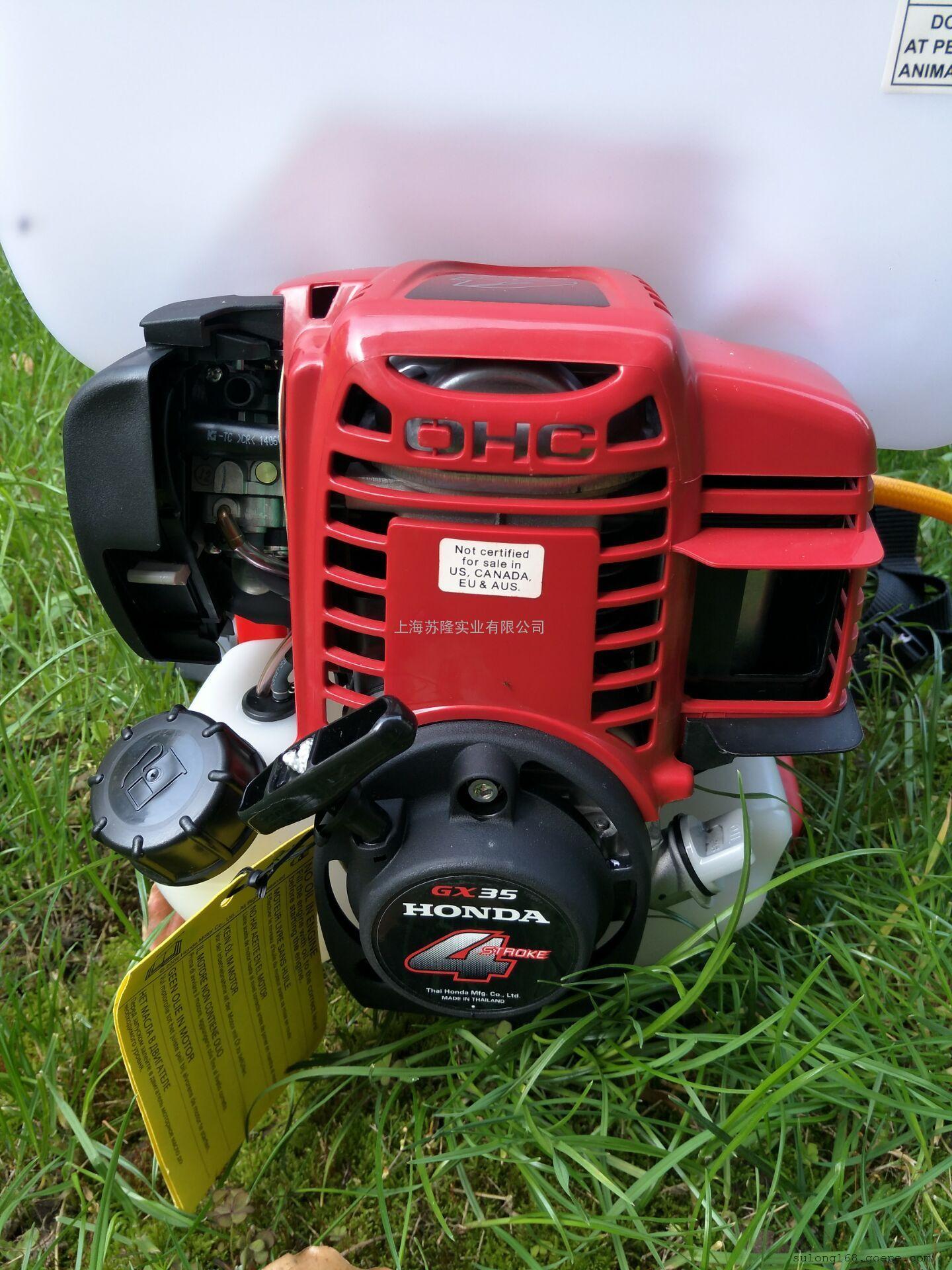 本田GX35高压25L农用汽油打药机,四冲程背负喷雾器