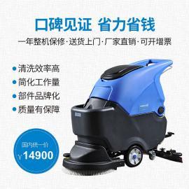 无锡工厂清洗水泥地面用洗地机|无锡商场清洗地面用拖地机