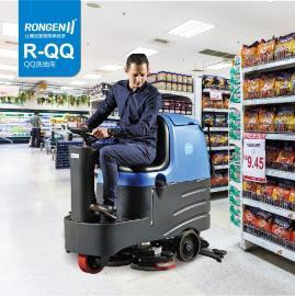 批发驾驶式洗地机,厂家直销容恩洗地机