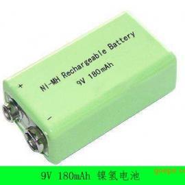 厂家直销9v180H镍氢充电电池 万用表电池