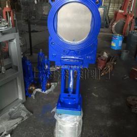 PZ673X型气动浆液阀、铸铁刀闸阀