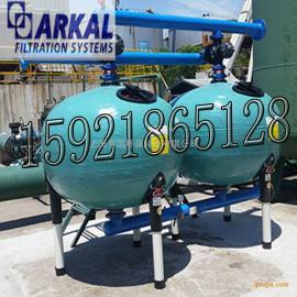 以色列阿科进口48寸自动反冲洗AGF全塑球形浅层介质砂(沙)滤器