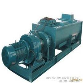 宏瑞卧式粉尘加湿机 SJ-60双轴强力搅拌除尘器配件专业制造商