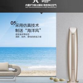 北京格力中央空调金贝变频柜机(2匹)KFR-50LW/(50578)FNhAd-A1(