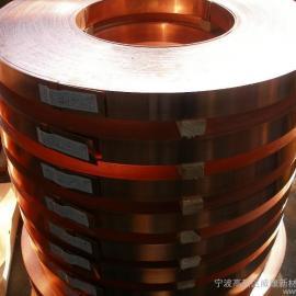 国产大卷铍铜带C17200 低铍铜带C17410铜合金铍铜带