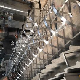 加工不锈钢防护爬梯