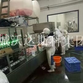 血豆腐生产线,盒装血豆腐生产线,盒装血生产设备