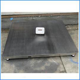 2吨不锈钢电子磅秤 2t防水防腐蚀地磅1.2*1.2米多少钱