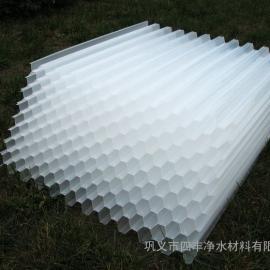 50孔径斜管填料厂家///80斜管沉淀池用价格