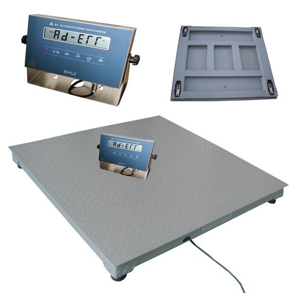 化工5吨防爆地磅防爆仪表 5t防爆平台秤1.5*1.5米的价格是多少