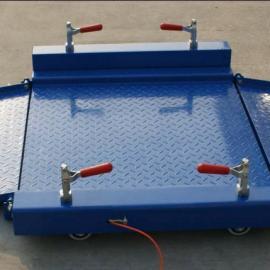 2t电子地磅带双斜坡的价格 2000公斤1.2米磅秤品牌