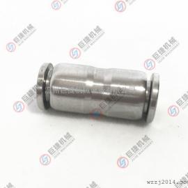 不锈钢304直通快接 尼龙管气管快速接头 气动快插接头快插直接