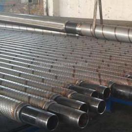 不锈钢桥形孔冲缝外护套筛管/石油过滤防砂复合式筛管