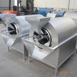 奥丰100型电加热滚筒炒货机 瓜子炒货机 滚筒炒锅