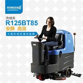 容恩品牌洗地机厂家|R110BT70驾驶式洗地机白灰空中洗地机