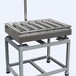 流水线滚筒输送电子秤带打印