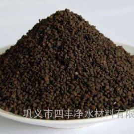 四丰除铁除锰锰砂滤料价格////35-40含量锰砂滤料厂家