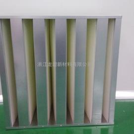 镀锌框V型过滤器