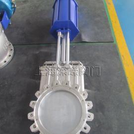PZ643X/PZ643F/PZ643H/PZ643Y型气动对夹式刀型闸阀