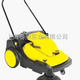 学校操场塑胶跑道用电动扫地机 威德尔手推式无线扫地机