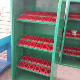 珠海刀具存放柜|敞开式刀具储存柜|BT40刀具放置柜
