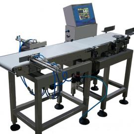 海鲜三段式检重秤-在线称重检测机-高精度重量选别机