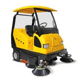 明诺带洒水扫地机,大型工厂扫地机,厂区树叶石子扫地机
