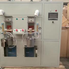 独立自主研发DIH-40型全自动双工位高频感应钎焊设备