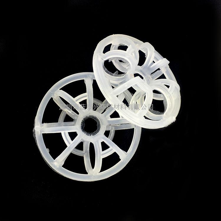 气体洗涤净化塔大型环保设备海胆型化工填料塑料花环
