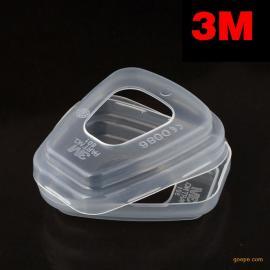3M 501 防尘防异味面罩 防PM2.5 防有害气体面罩 防护面罩