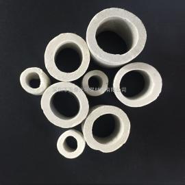 50mm陶瓷散堆填料耐酸碱耐极高温瓷环拉西环