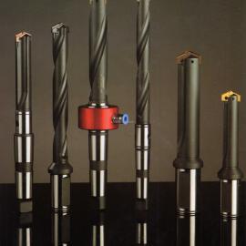 创恒侧固和锥柄铲钻刀柄 快速钻 U钻 内冷喷水钻杆 可换刀片钻头
