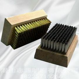 陶瓷网纹辊清洗专用刷国产超细铜丝刷进口不锈钢丝刷