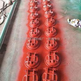 国标法兰铸铁拍门河北优质供应商