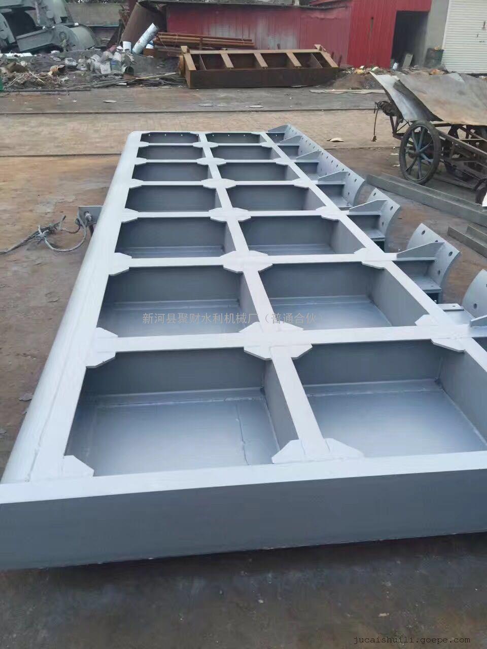优质液压底横轴钢坝技术参数&报价_景观钢坝闸门 液压图片