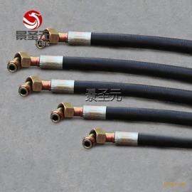 挖掘机破碎锤专用液压油管 钢丝缠绕高压胶管 4分 6分 1寸 1寸2