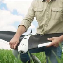 Disco无人机在精准农业应用的优势