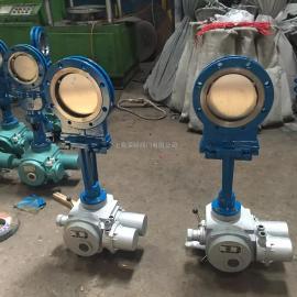 PZ973H、PZ973Y型对夹式电动刀型闸阀(刀闸阀)