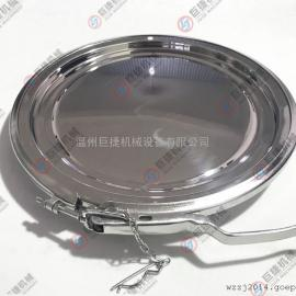 不锈钢转运桶卡箍人孔 不锈钢卡箍人孔 不锈钢人孔 卫生级人孔