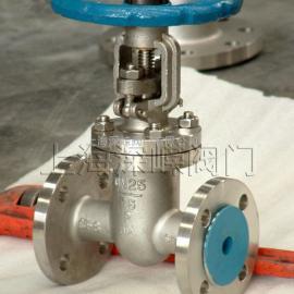 Z40W-16Ti、Z40W-25Ti型钛合金楔式手动闸阀