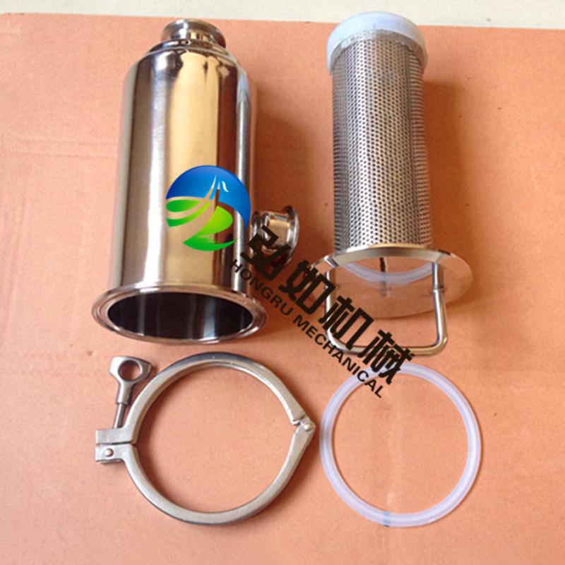 厂家供应卫生级直角式过滤器、精密过滤器、快装过滤器、角式过滤