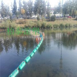 厂家专业生产多规格河道垃圾拦截浮漂(施工图)