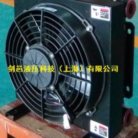 剑邑ELD-2-D2液压油风冷却器12V 24V电压液压油散热器